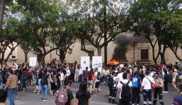 protestan en Jalisco contra el abuso policial