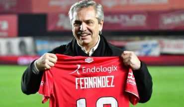Alberto Fernández talked about the return of football in Argentina