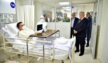 AmLO's visit to alleged Covid's sickness accused of mounting