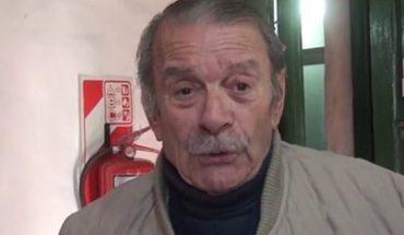 At the age of 82, actor Rodolfo Machado died