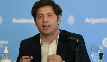 """Axel Kicillof: """"If we hadn't taken the steps, it would be a tragedy"""""""