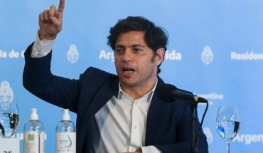 "Axel Kicillof: ""We were treated to be outrageous and what we did was raise awareness"""