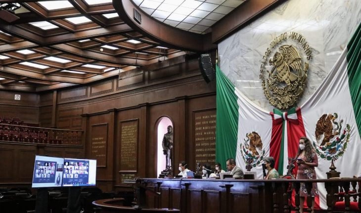 Congress of the State of Michoacán held the sixth virtual meeting