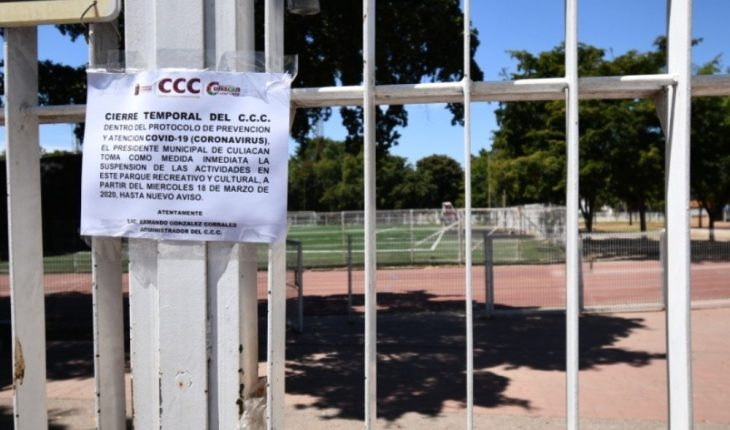 Culiacan: Nothing concrete to reopen sports spaces
