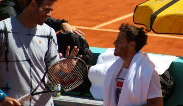 Del Potro and Schwartzman armed with tennis workers