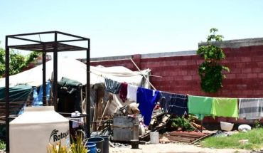 Family lives in anguish when inhabiting house with roof and walls of rubber in Culiacan, Sinaloa