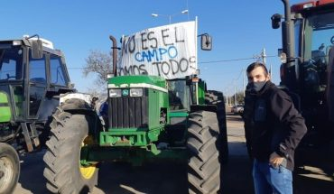 """Hector Vicentin went on the march and said that """"the government wants to dominate the grain trade"""""""