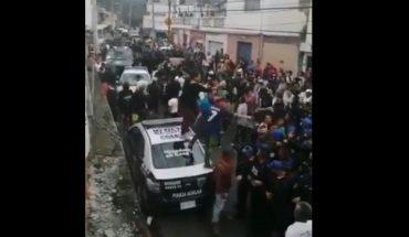 Lynching attempt reported in Cuajimalpan, Edomex