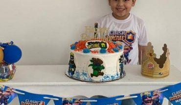 Mateo Carrillo Valdez has fun on his birthday