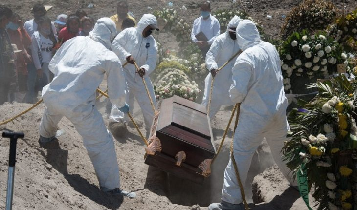 Mexico reaches 12 thousand 545 deaths by COVID-19