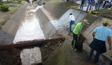 Morelia rivers and drains, under control after Tuesday's tromba