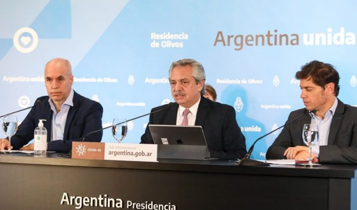 On Thursday Fernandez announced the new quarantine restrictions in AMBA