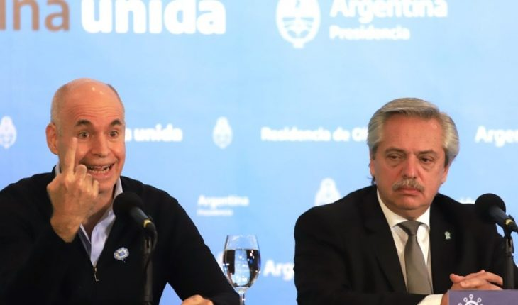 Rodriguez Larreta confirmed that physical exercise is enabled during the night