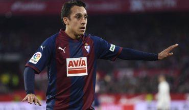 SD Eibar officialized the departure of Fabián Orellana