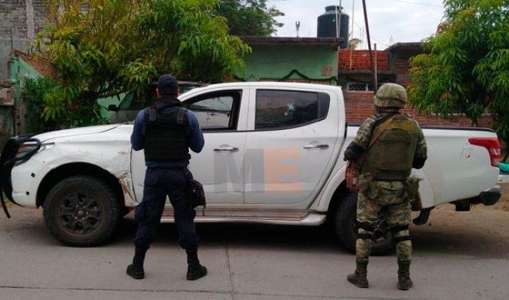 Aseguran 195 cartuchos, cargadores y un vehículo en Parácuaro, Michoacán