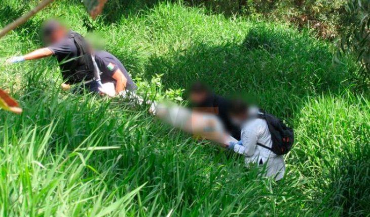 Encuentran el cuerpo de un hombre a la orilla del Río Chiquito en Morelia, Michoacán