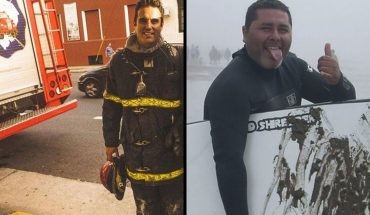 Who were the two firefighters who died in the explosion in Villa Crespo