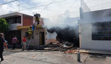 Woman and her two daughters are injured after explosion at zamora home, Michoacán