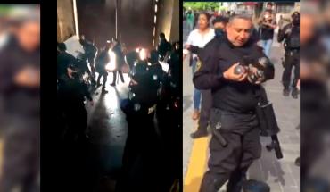 pre-copers ahead of the showdown with Guadalajara protesters (Video)