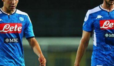 'Chucky' Lozano recibe minutos en el empate del Napoli ante el Milan