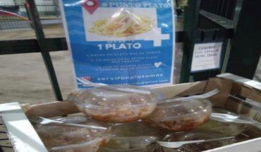 """""""Servir un plato más"""": un proyecto solidario para ayudar a quienes no tienen para comer"""