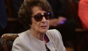 A los 93 años falleció Ángela Jeria, madre de la ex Presidenta Michelle Bachelet