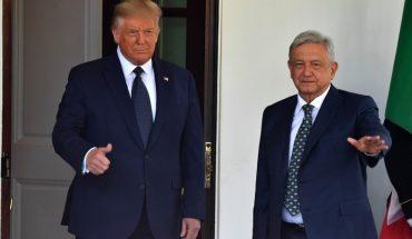 AMLO y Trump se encuentran e inician su primera reunión