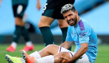Alarmas en el City, el Kun Agüero se retira lesionado