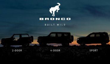 Bronco es la nueva marca de los 4x4 y SUV de Ford