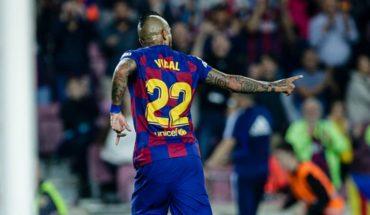 Con Arturo Vidal como titular el Barcelona venció 5-0 al Alavés