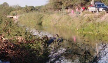 Conductor pierde la vida tras caer a un canal en Ahome, Sinaloa