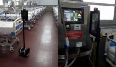 Corrientes: el robot enfermero que atiende casos de coronavirus