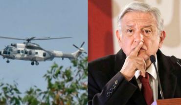 Critican a AMLO por viajar a Guanajuato en helicóptero (Video)