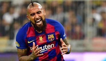 Derrota del Barcelona entregó el titulo al Real Madrid: Vidal entró en el segundo tiempo
