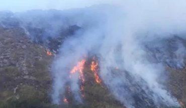 Desde hace dos semanas los bomberos combaten un incendio forestal en Orán
