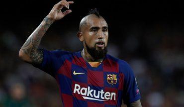 Diario español apunta que el Barça apuesta a la continuidad de Arturo Vidal