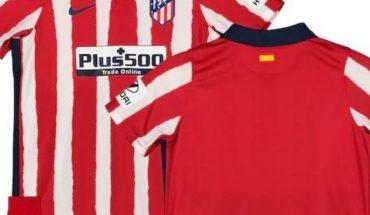 Este uniforme usará el Atlético de Madrid la temporada 2020-2021