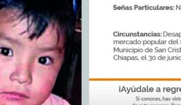 FGR pide ayuda para localizar a un bebé y tres personas extraviadas