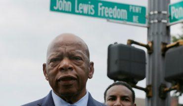 Fallece John Lewis, líder afroamericano por los derechos civiles en EEUU