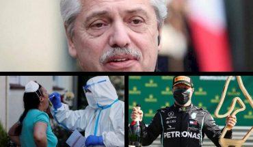 Fernández cruzó a la oposición por sembrar dudas sobre la muerte de Gutiérrez, hay más de 11 millones de contagiados en el mundo, volvió la Fórmula 1 y mucho más...