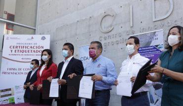 Firma Raúl Morón convenio de colaboración con CIDAM para fortalecer la economía del municipio
