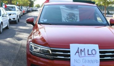 Frena realiza la quinta caravana Anti AMLO en la ciudad de Los Mochis, Sinaloa