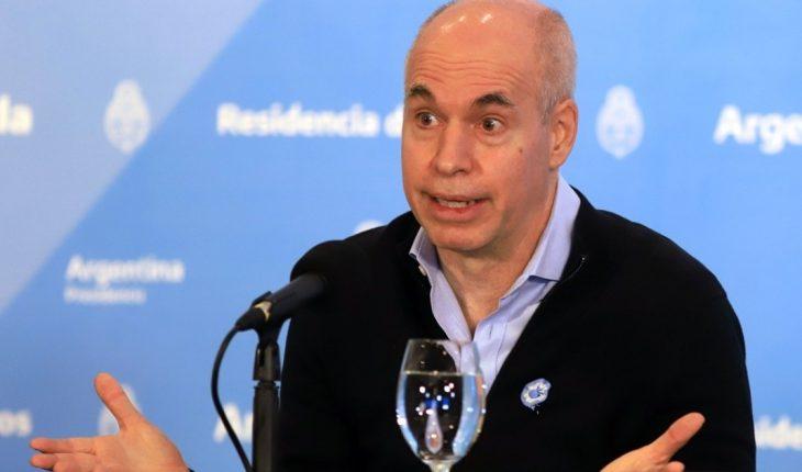 """Horacio Rodríguez Larreta: """"No nos adelantemos, no sabemos como va a evolucionar el virus"""""""