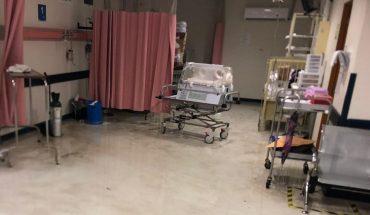 Hospital materno de Reynosa sufre inundación con lluvias de tormenta Hanna