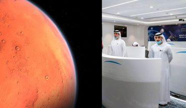Lanzan con éxito la primera misión del mundo árabe a Marte