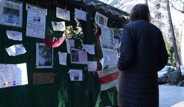 Las Cañitas: homenaje a un florista que murió por coronavirus
