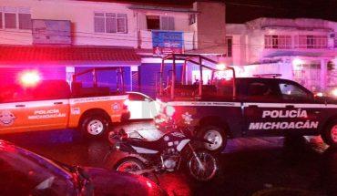 Lesionan a hombre a balazos en Uruapan, Michoacán