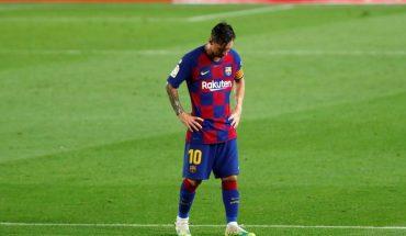 Lionel Messi explotó tras la derrota de Barcelona y el título de Real Madrid