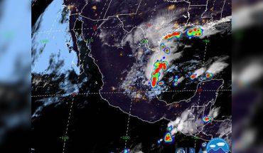 Lluvias puntuales y n Sonora, Sinaloa, Chihuahua y Chispas