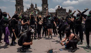 Mujeres marcharon en CDMX para exigir la despenalización del aborto